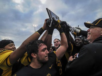 Piscataway football defeats Union City 28-7 in the NJSIAA North 2 Group V final on Saturday, Nov. 17, 2018.