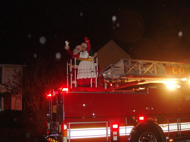 Santa and Mrs. Claus recently made their way to town during the Miracle on Main festivities and parade.