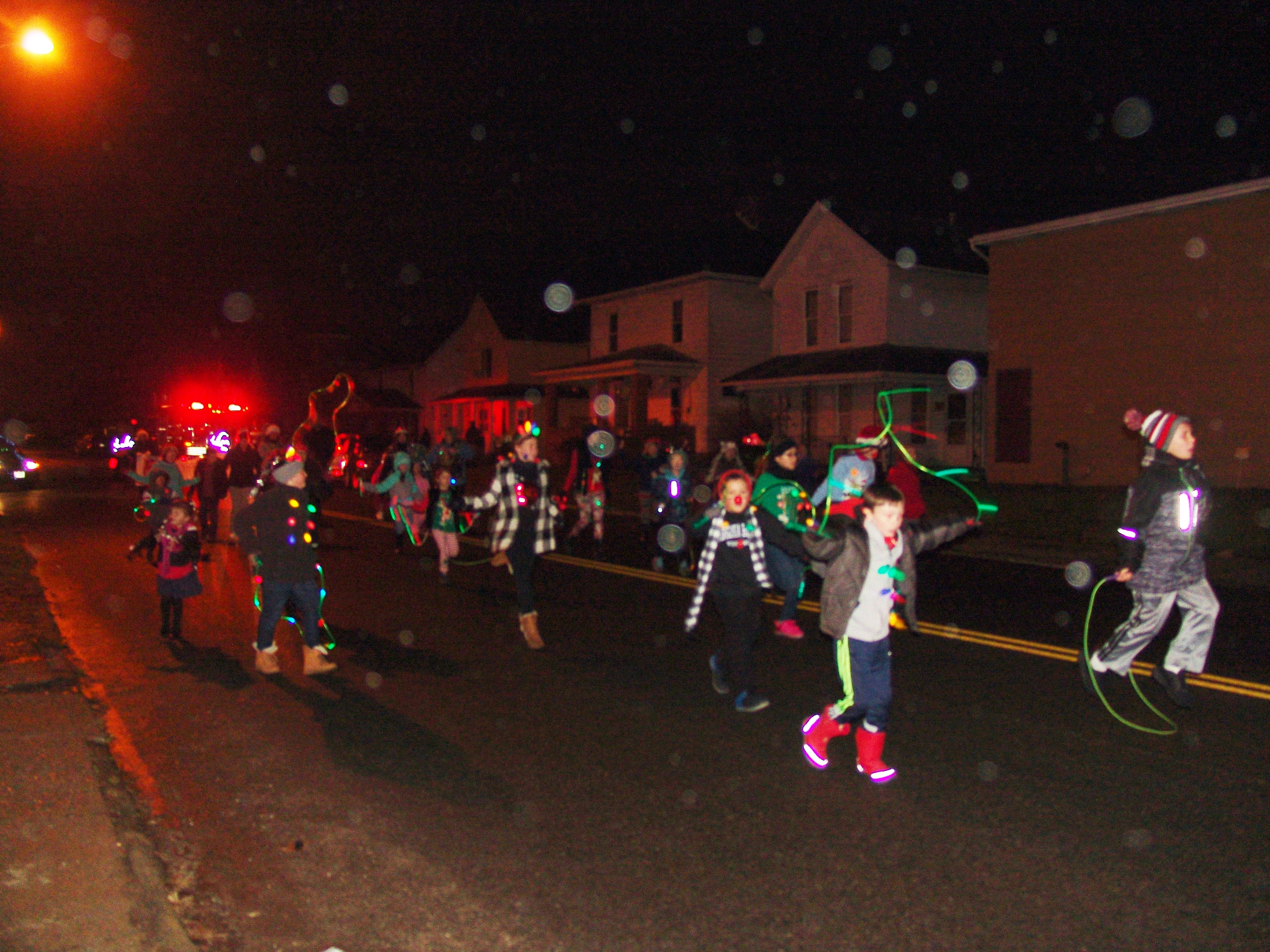 The Coshocton Miracle on Main Street Parade made its way through downtown on Friday.