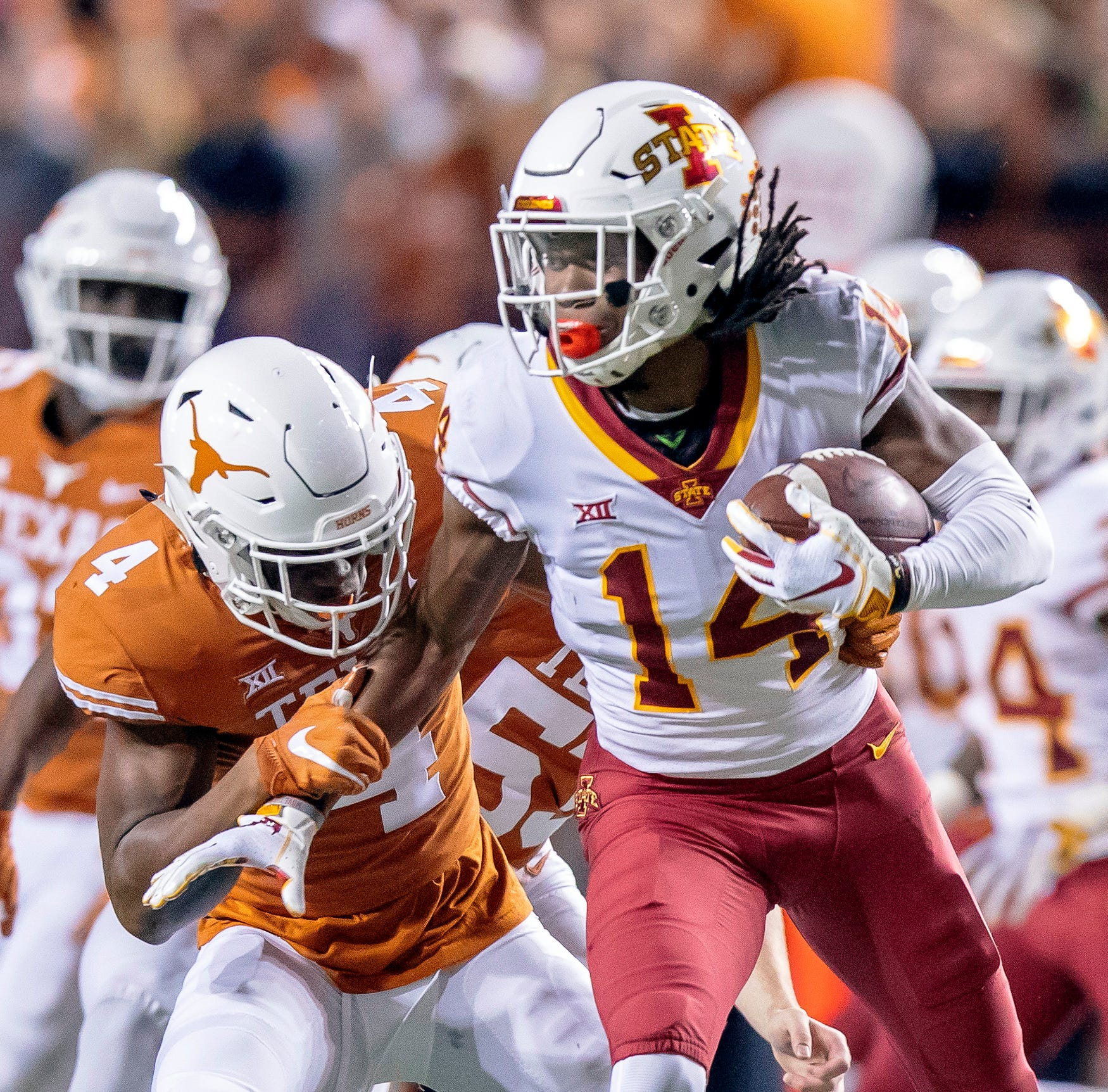 Stats file: Details on projected football starters for Iowa State against Kansas State