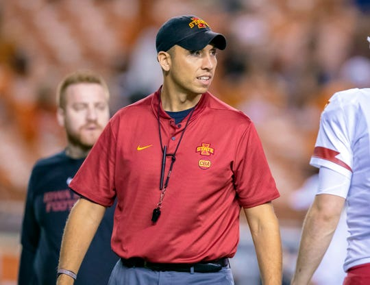 Iowa State head coach Matt Campbell told reporters on Tuesday that he has every intention of remaining the ISU football coach.