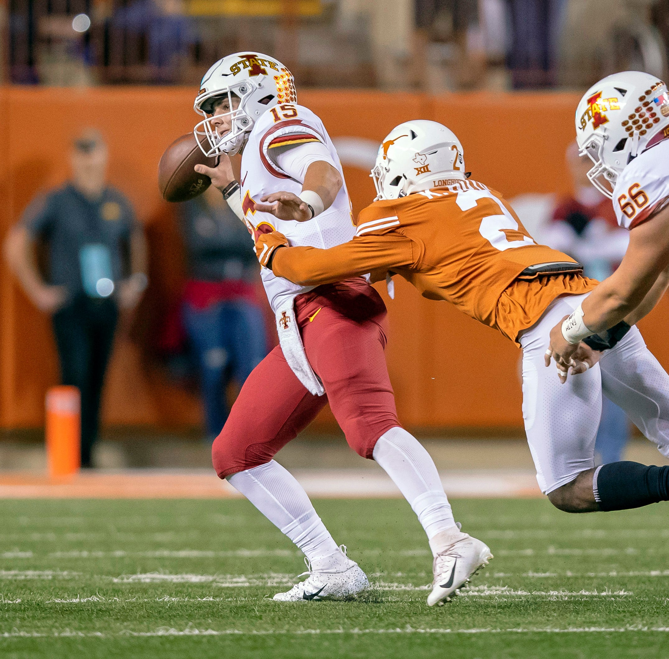 Jeff Woody: How Texas shut down Brock Purdy, Iowa State offense