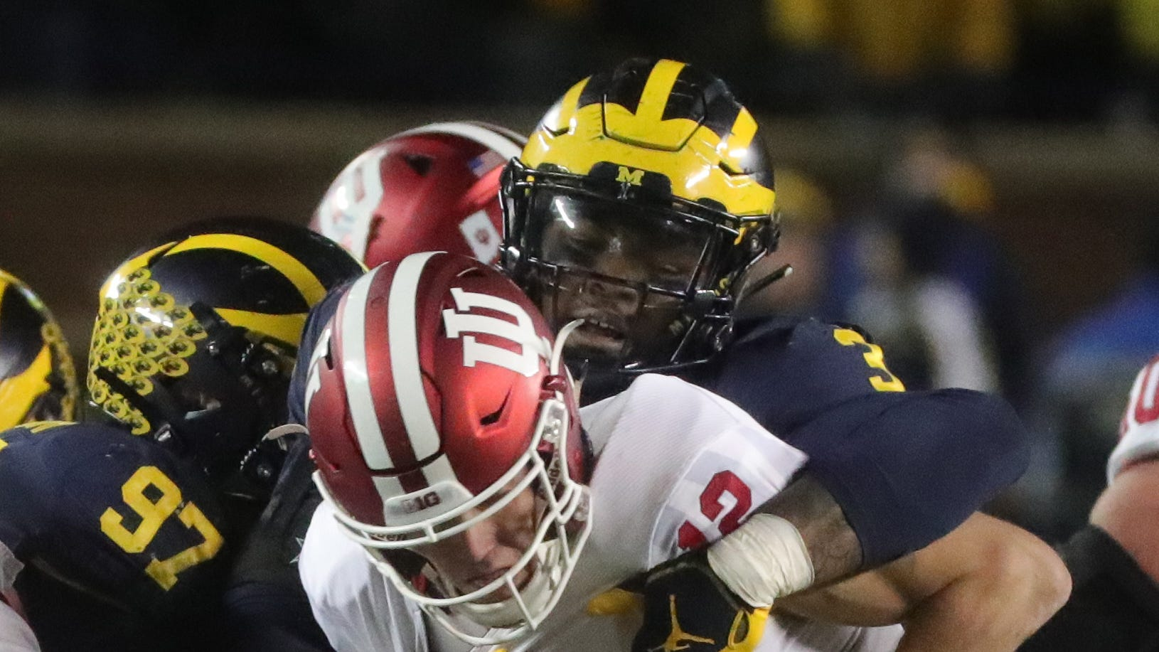 Michigan football's Rashan Gary is coming on at the perfect time