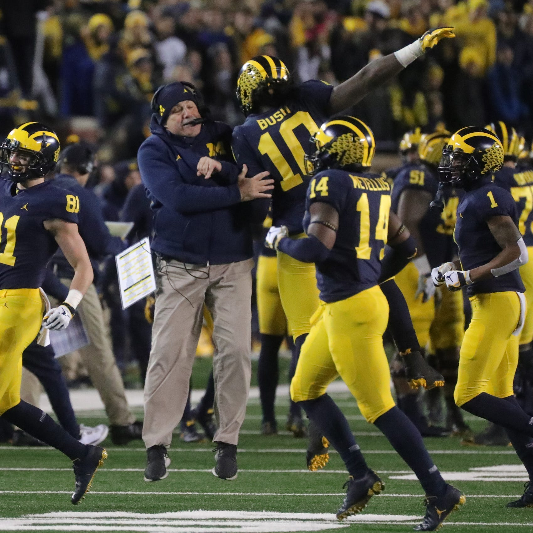 Michigan football's confidence soaring vs. Ohio State and it should be