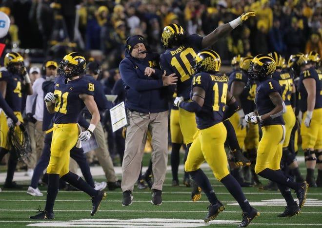 Michigan will visit Ohio State on Saturday.