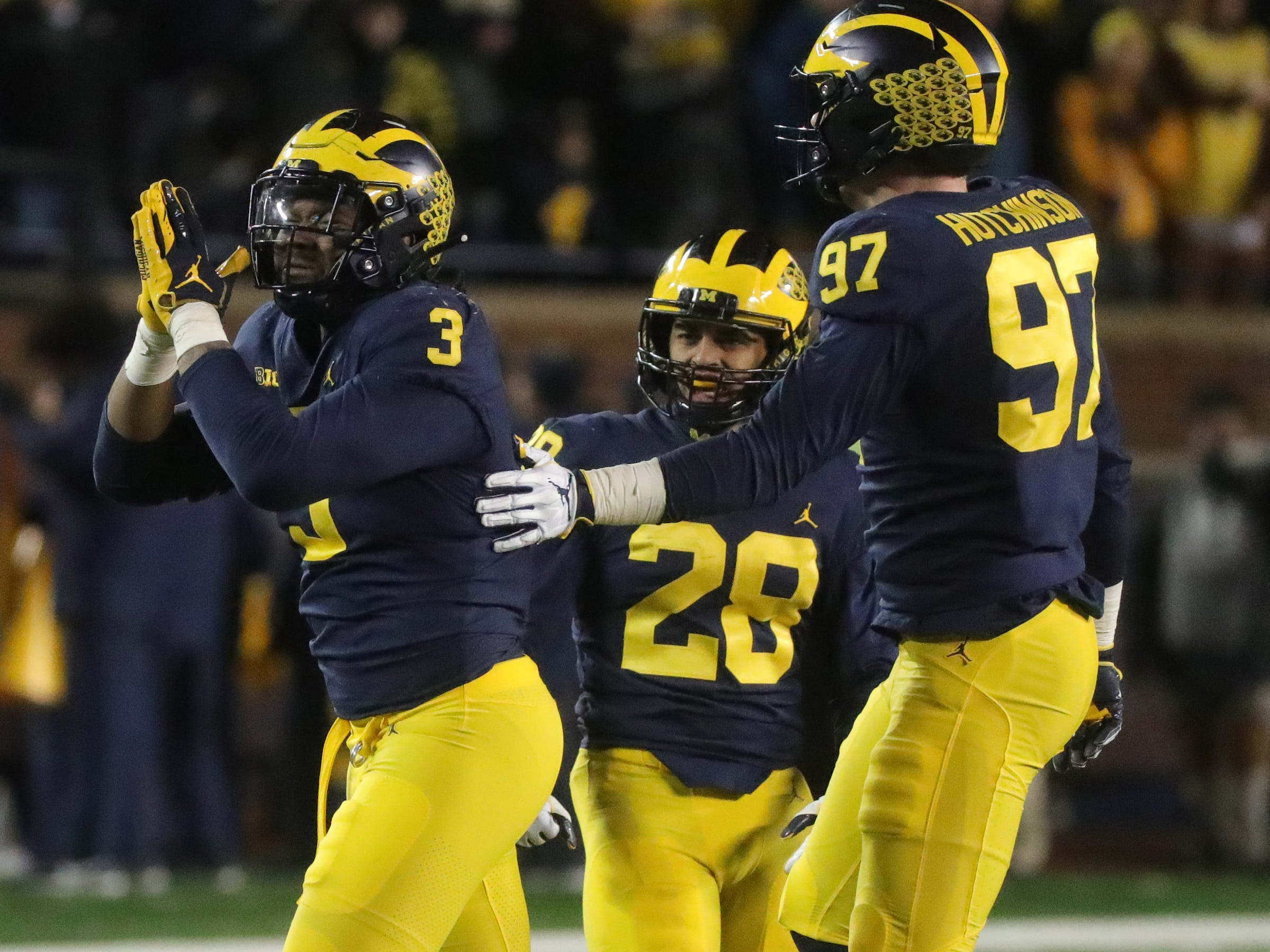 4. Michigan (10-1) | Last game: Defeated Indiana, 31-20 | Previous ranking: 4