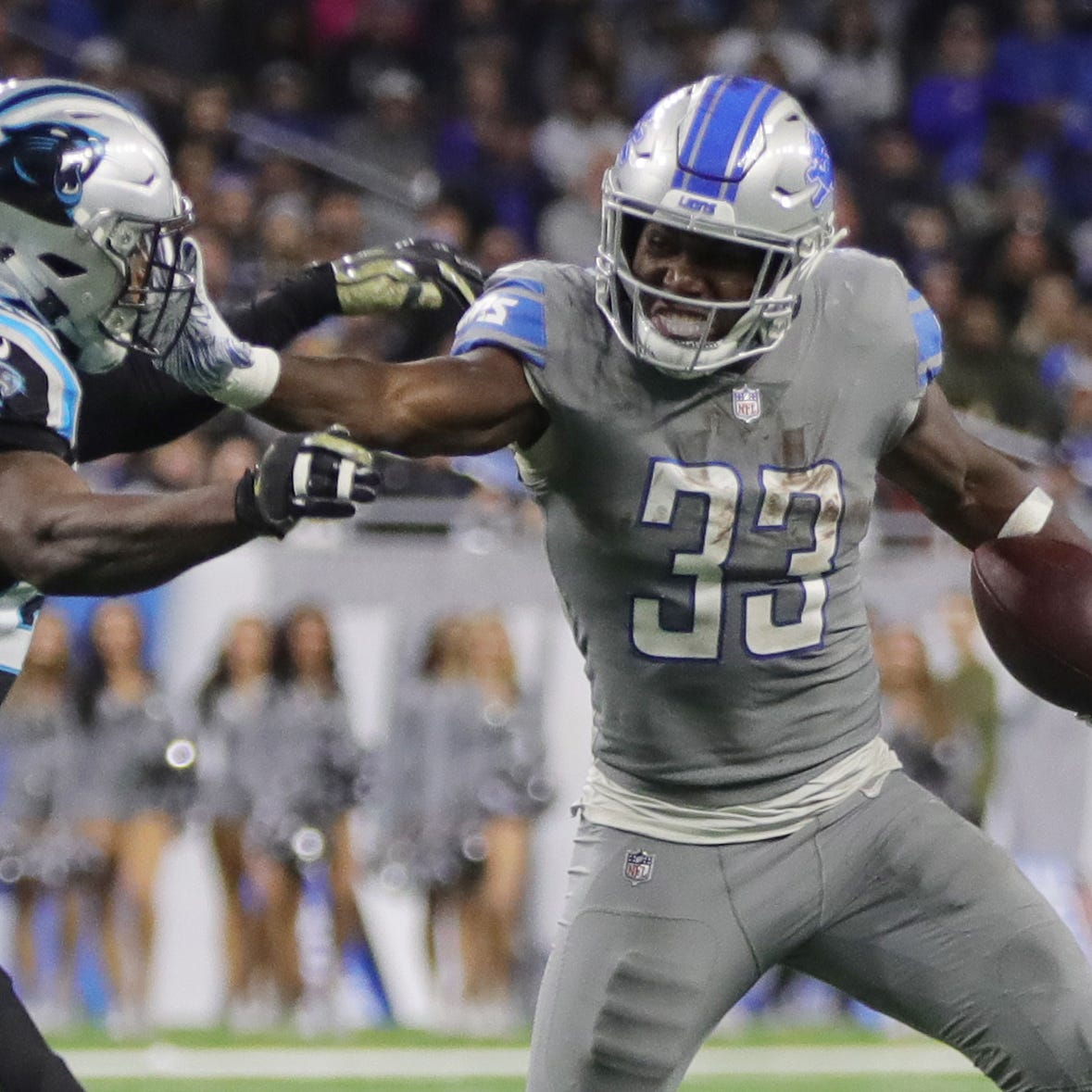 ESPN: Detroit Lions' Kerryon Johnson sprains knee, won't need surgery