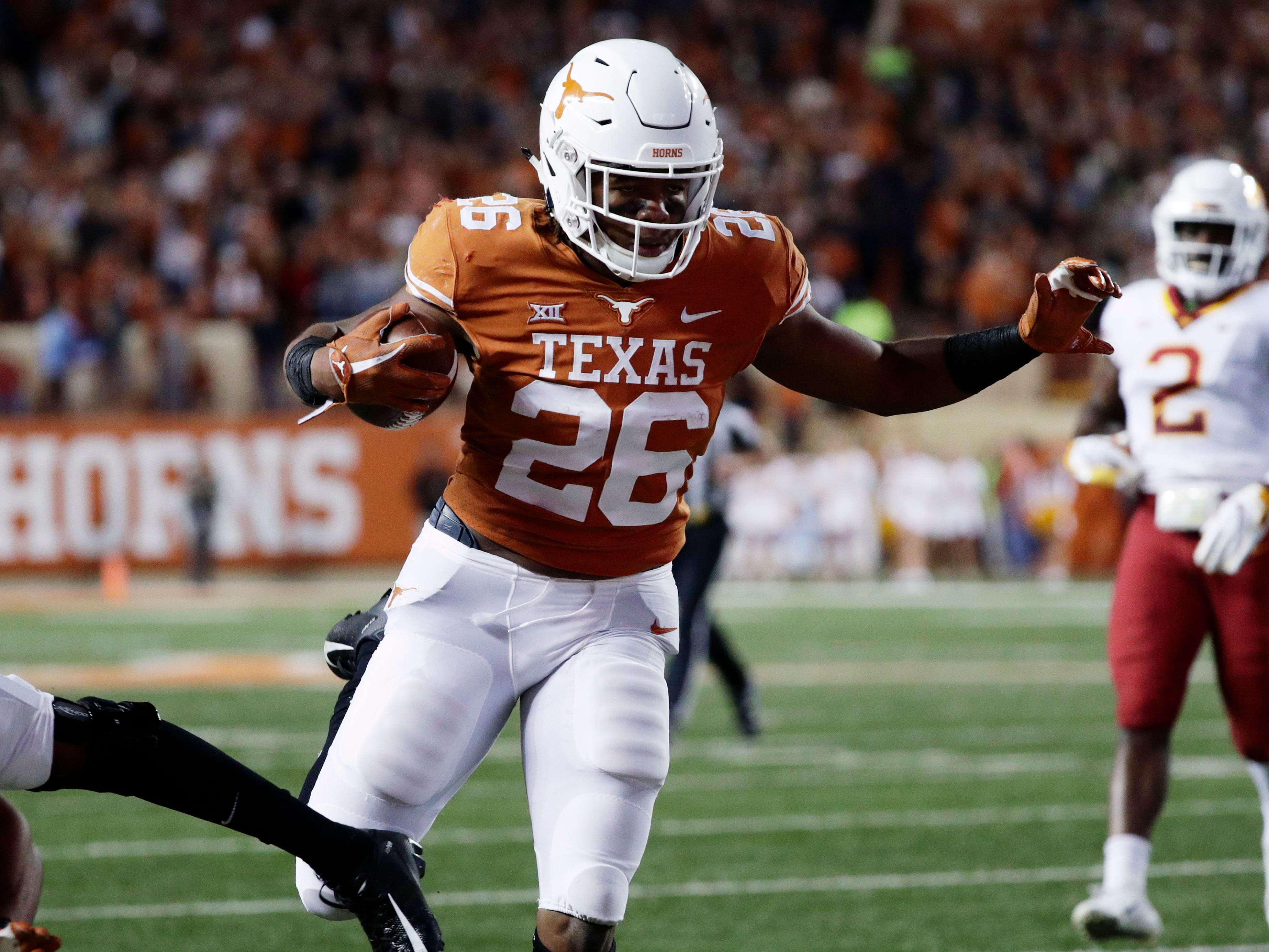 13. Texas (8-3) | Last game: Defeated Iowa State, 24-10 | Previous ranking: 18