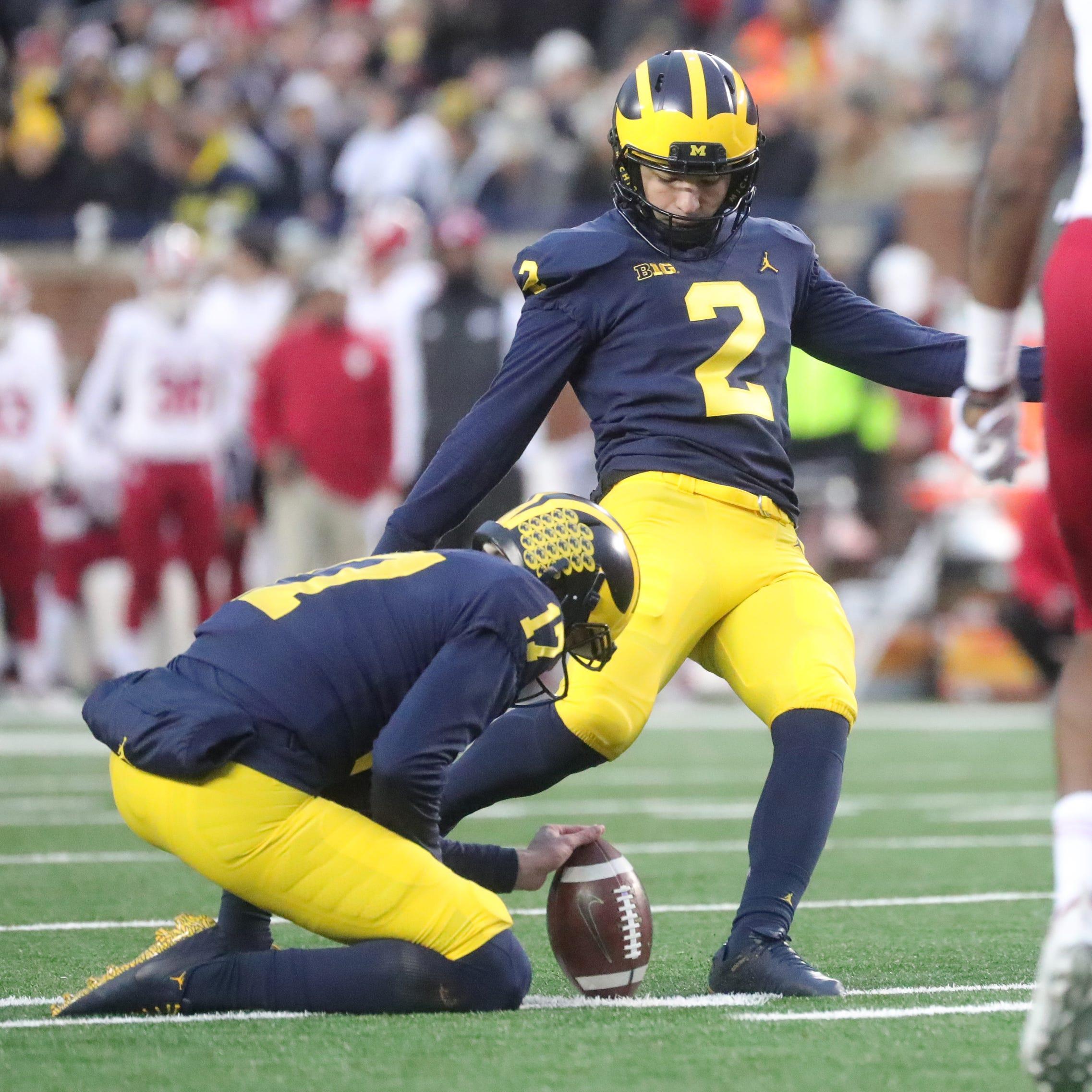 Michigan football's Jake Moody, Quinn Nordin will have lengthy kicker battle