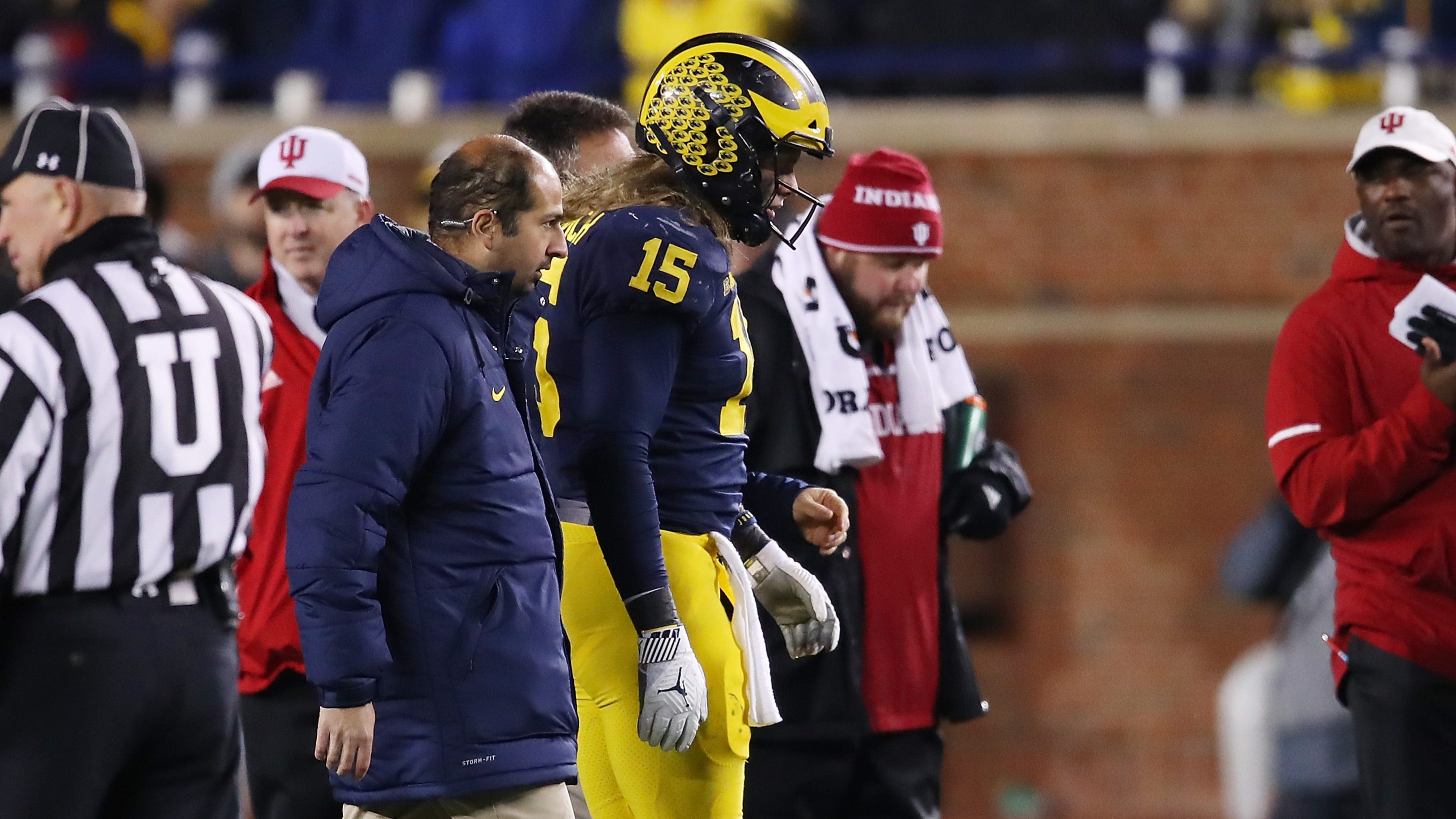 Michigan Players Hopeful Chase Winovich Plays At Ohio State
