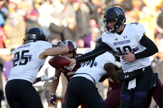 Northwestern QB Clayton Thorson has his sights set on a Big Ten title.