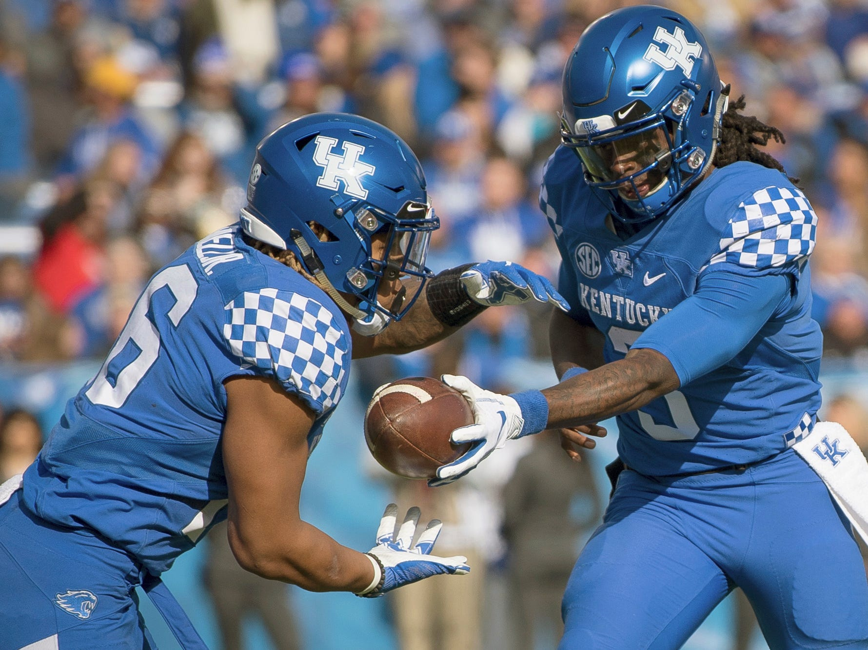 20. Kentucky (8-3) | Last game: Defeated Middle Tennessee, 34-23 | Previous ranking: 25
