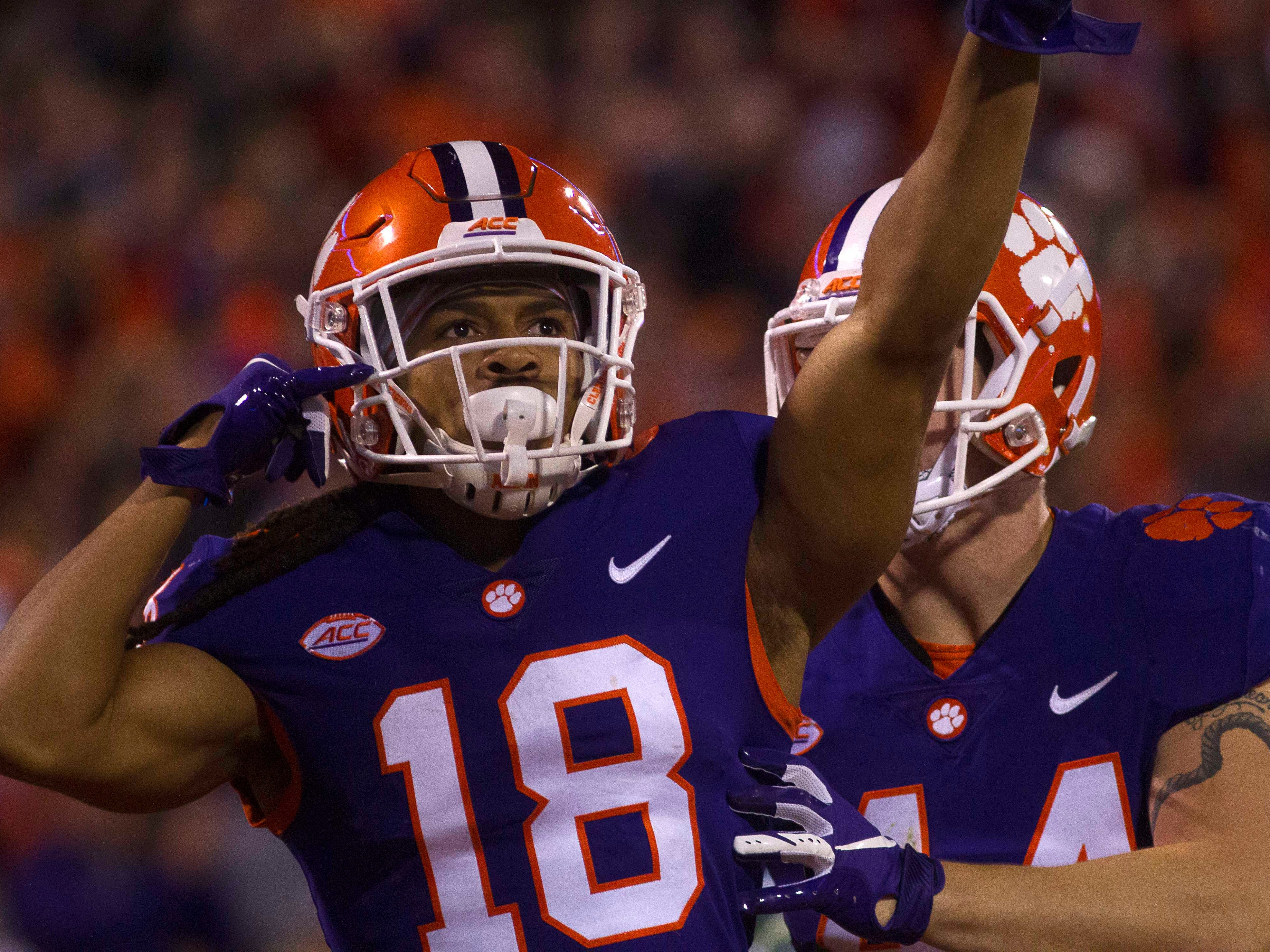 2. Clemson (11-0) | Last game: Defeated Duke, 35-6 | Previous ranking: 2