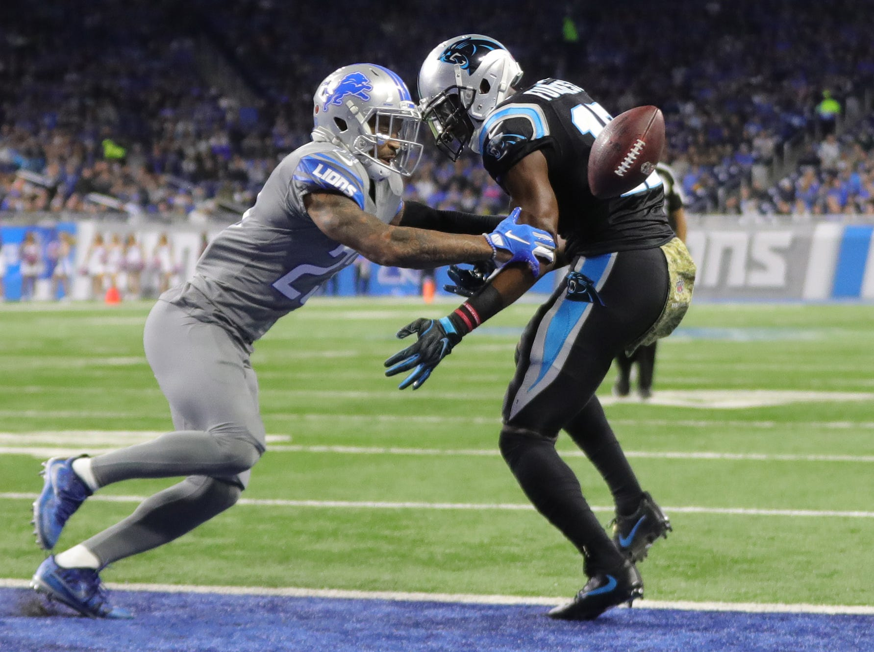 Detroit Lions' Darius Slay on conversion: 'They ain't getting this (bleep)'
