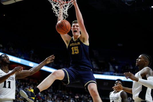 Ncaa Basketball Michigan At Providence