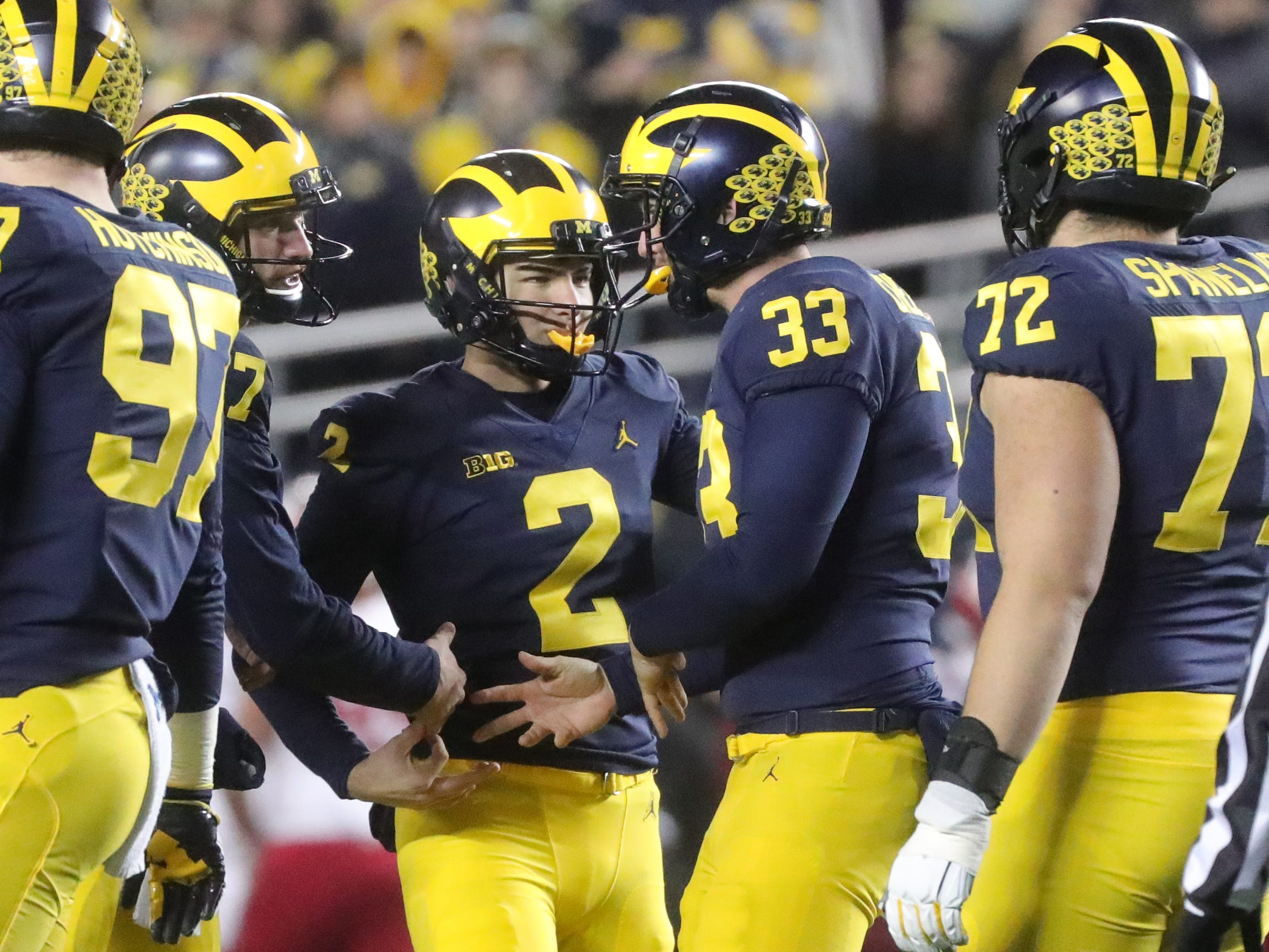 Michigan football's Jake Moody sets field goal record in debut