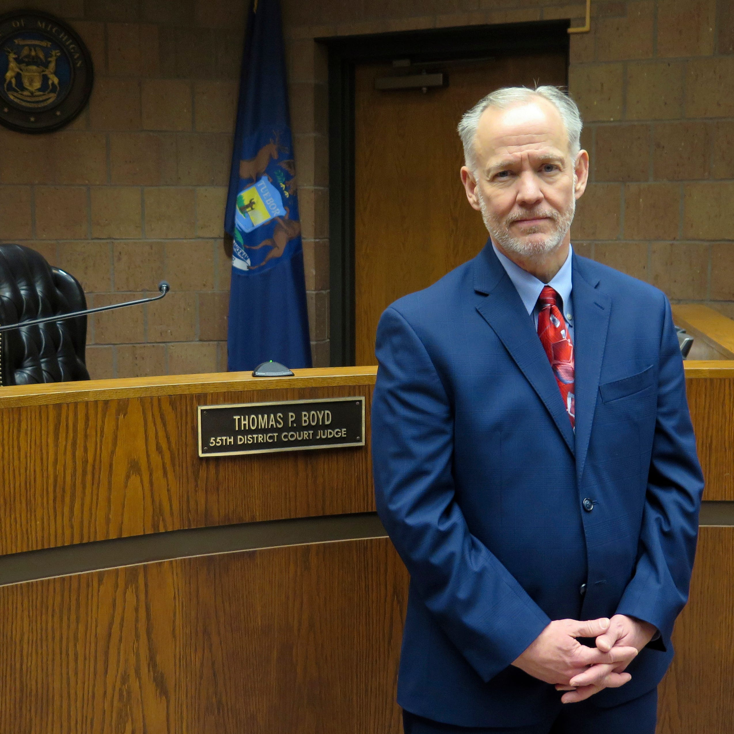 Case could upset a key source of cash for Michigan courts