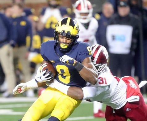 wholesale dealer 2d3cd 49d87 Michigan football: Berkley Edwards (head), Braylon responds