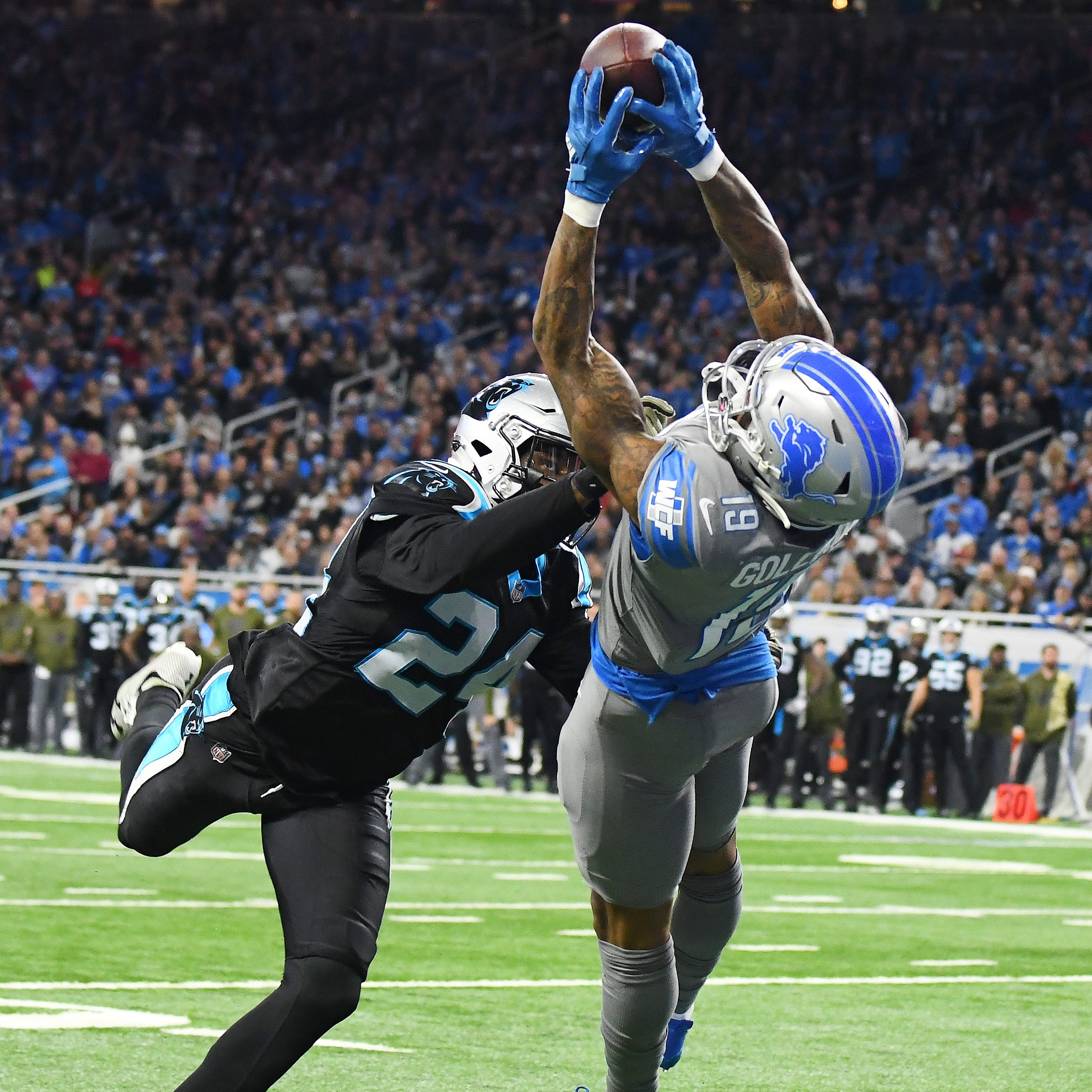 Lions hold on to snap skid as Panthers' gamble backfires