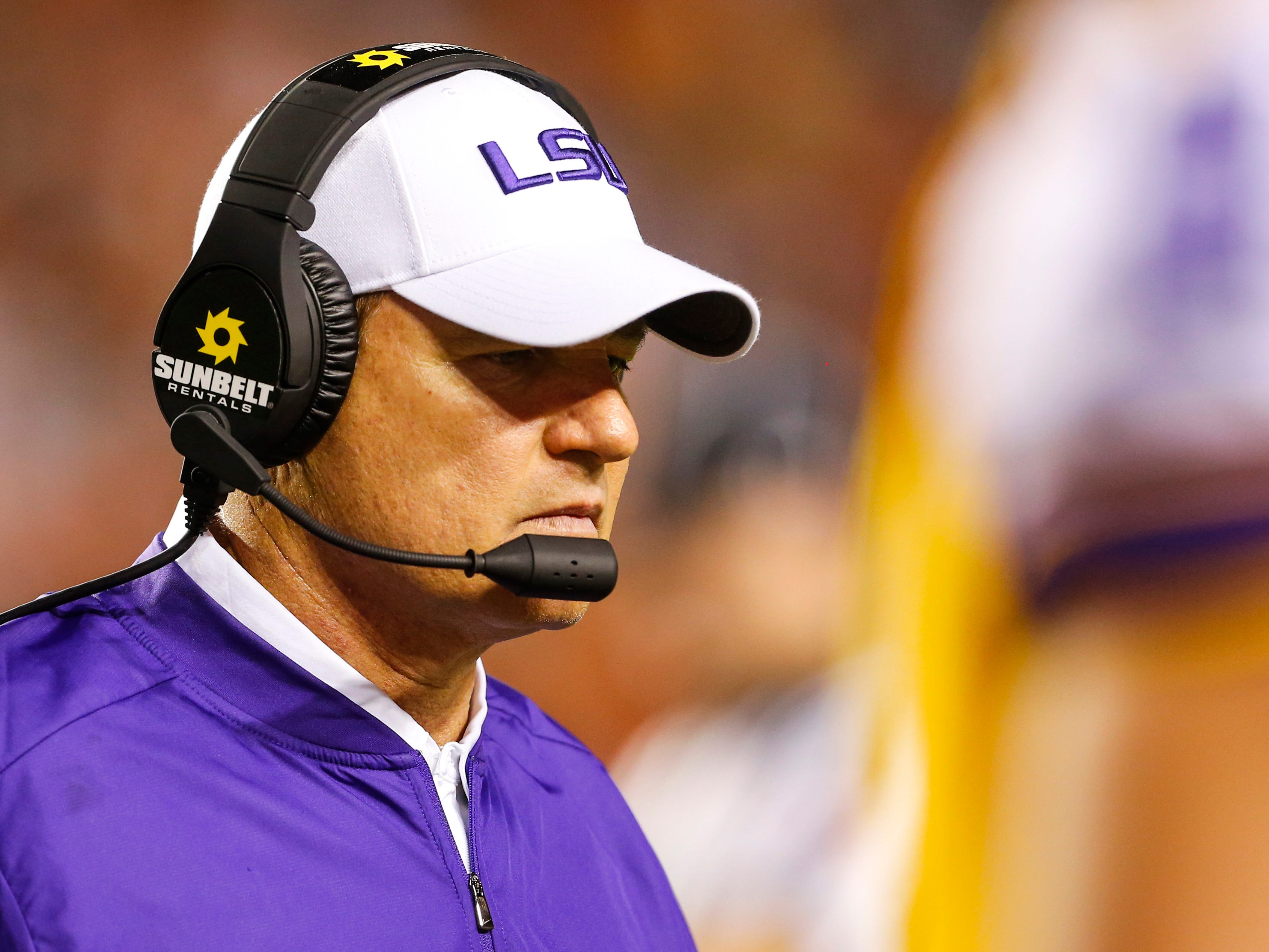Former LSU coach Les Miles to take over at Kansas