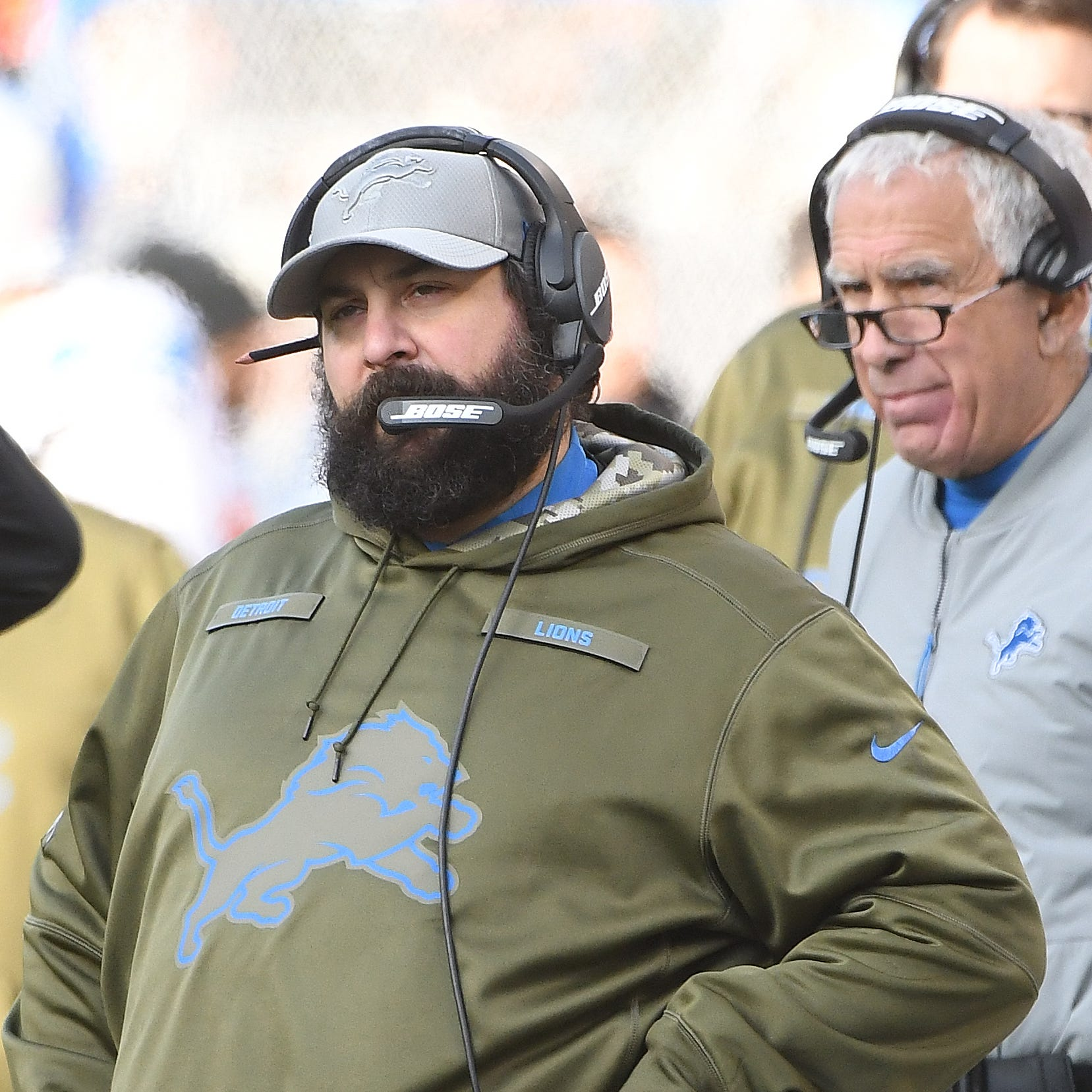 Rod Wood: Lions 'have a great head coach' in Matt Patricia