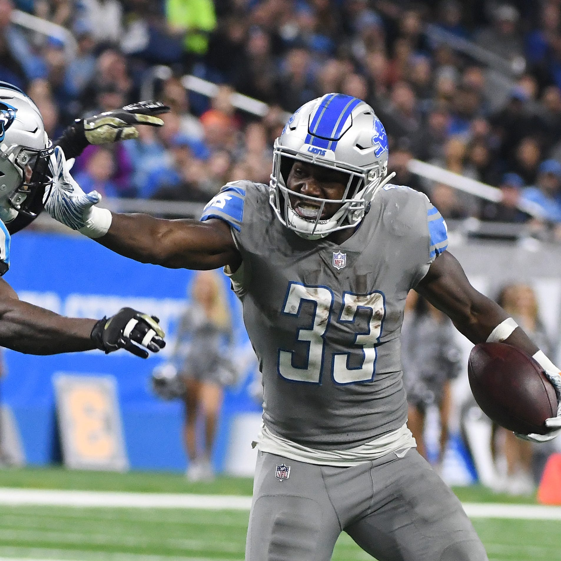Wojo: Lions' victory is costly if Kerryon Johnson is out