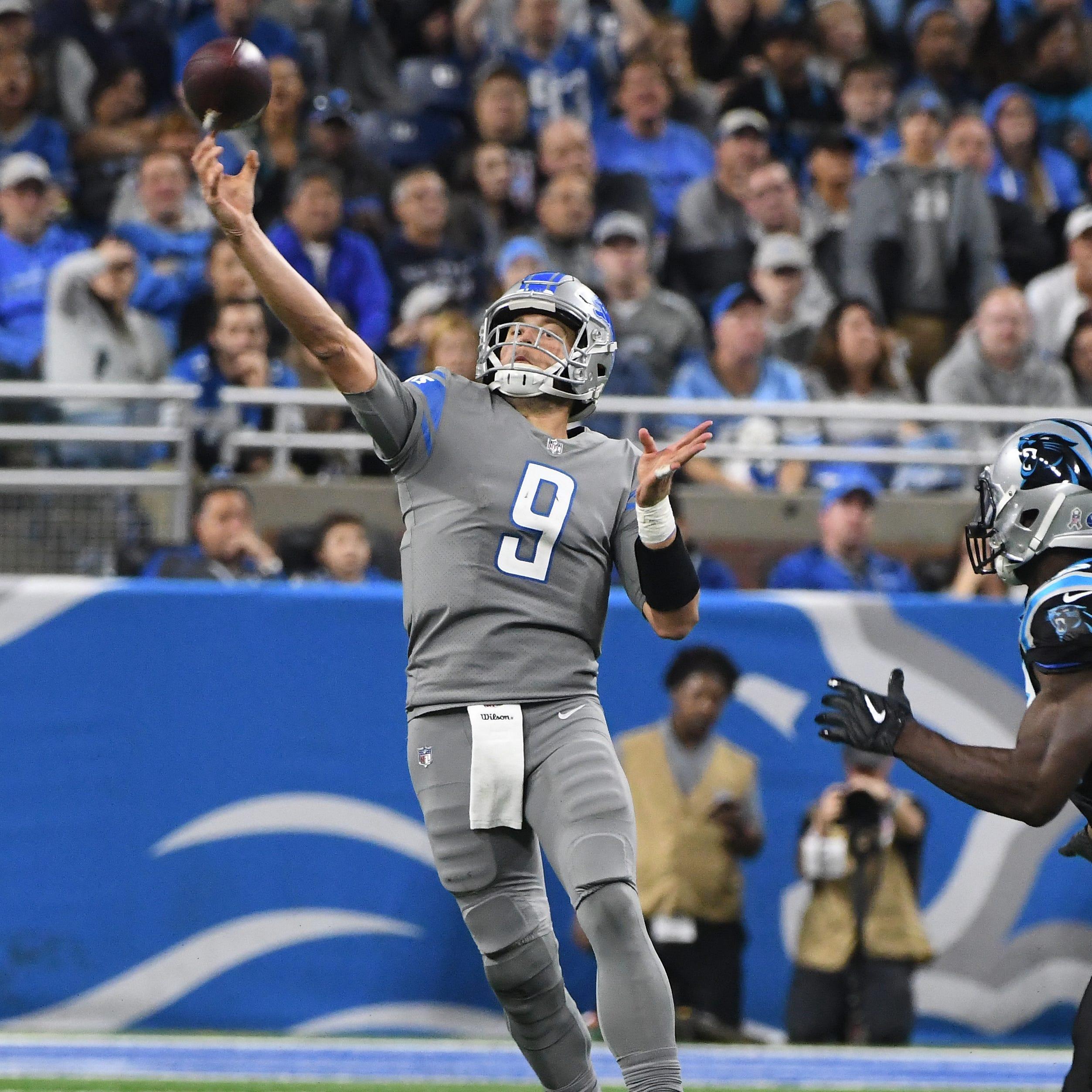 Justin Rogers' Lions grades: Performance vs. Carolina worthy of honor roll