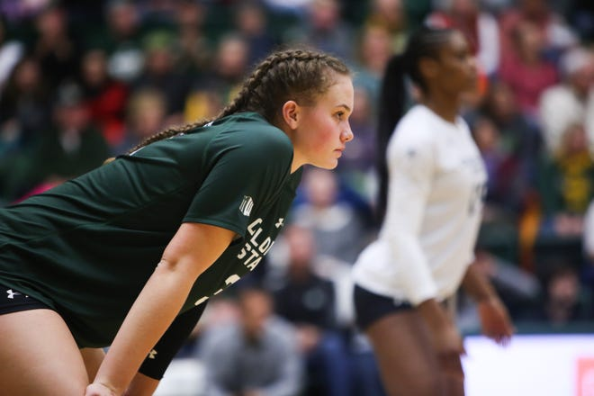 The CSU volleyball team lost 3-2 to Tennessee in the first round of the NCAA tournament on Friday.