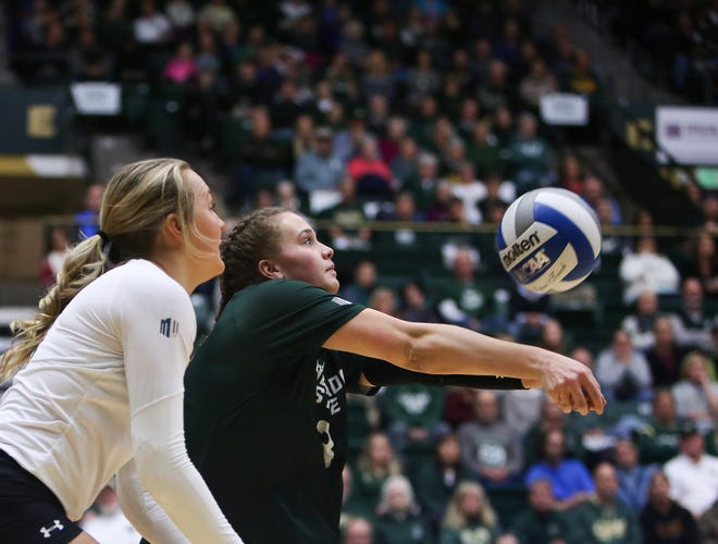 The CSU volleyball team plays in the first round of the NCAA tournament at 5 p.m. Friday against Tennessee in a game at Pullman, Washington.