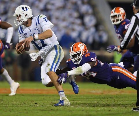 Clemson Duke Football