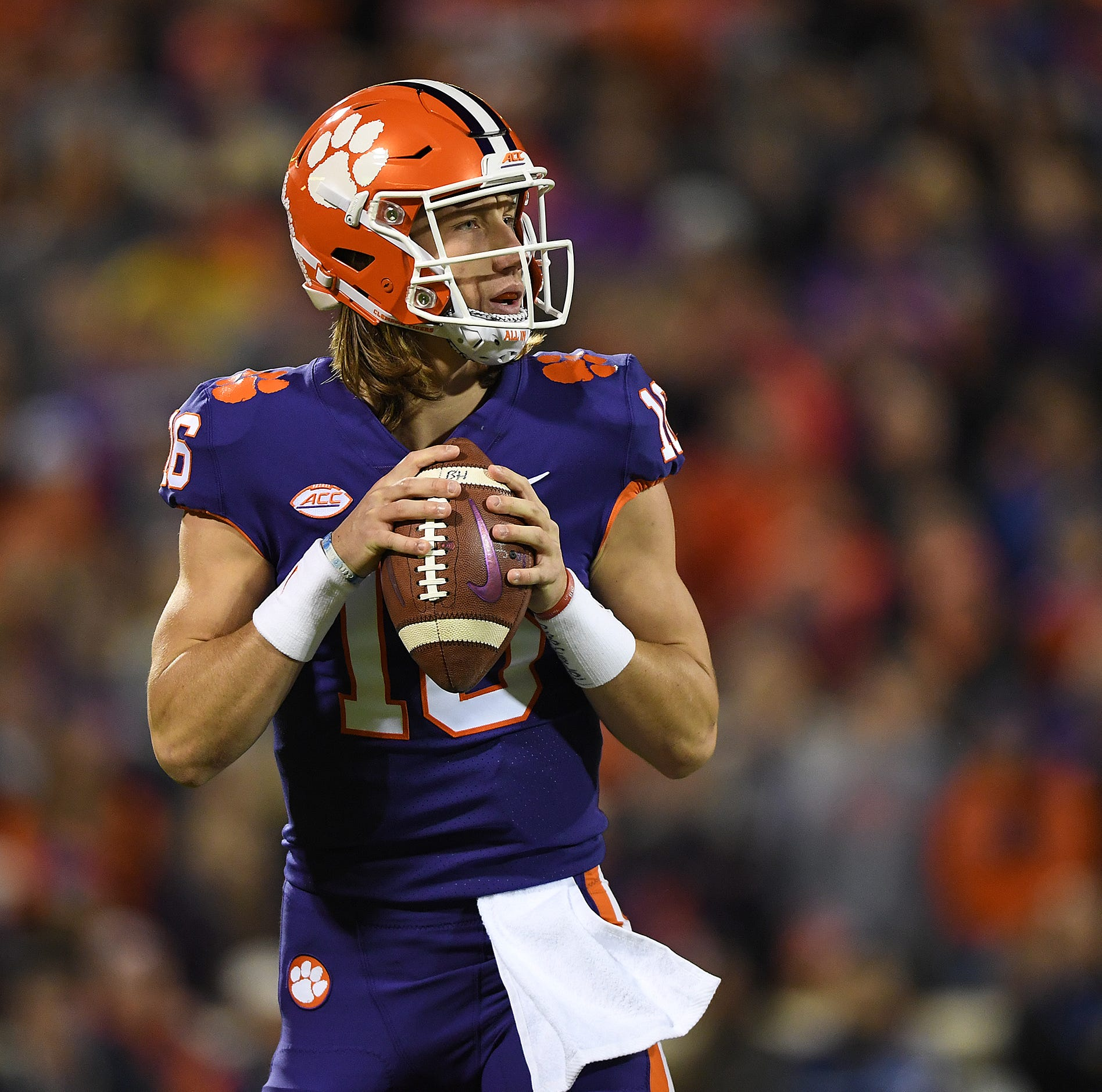 Clemson QB Trevor Lawrence says Gamecocks are 'just another team in the way'
