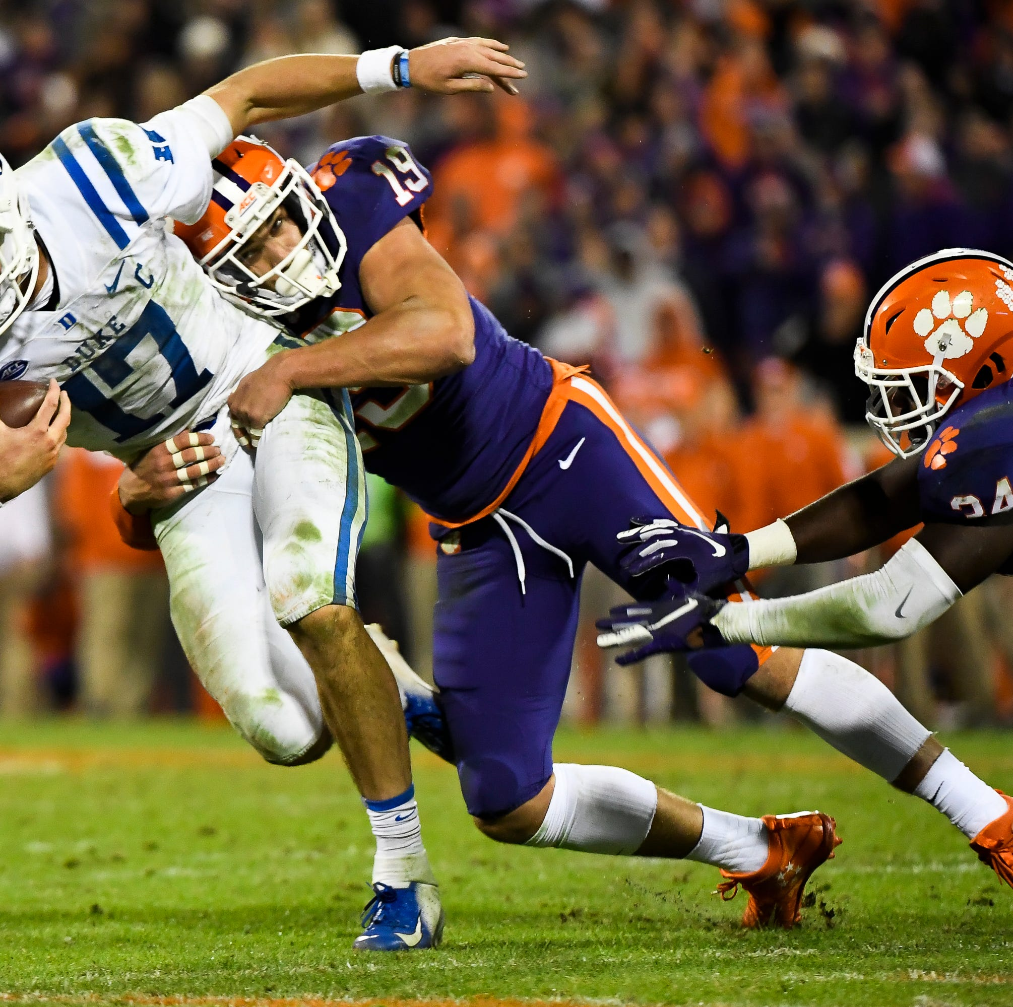 Six notable numbers produced by Clemson football's ACC victory against Duke