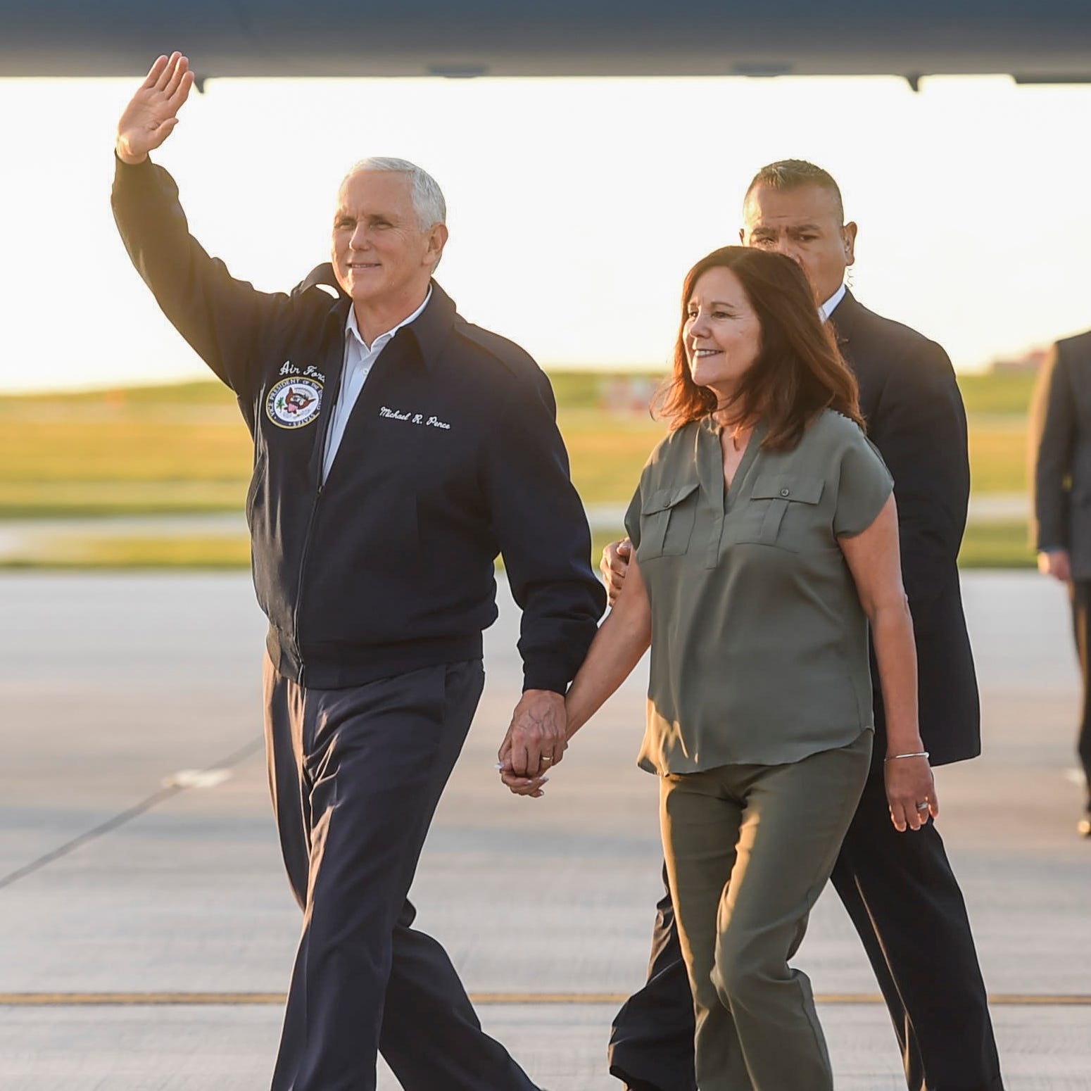 Vice President Mike Pence ends Asia-Pacific trip with visit to Guam