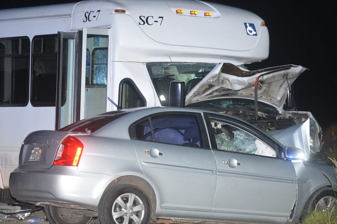 An auto-bus crash on Route 15 was confirmed to be a fatal accident by the Guam Police Department on the evening of Sunday, Nov. 18, 2018.