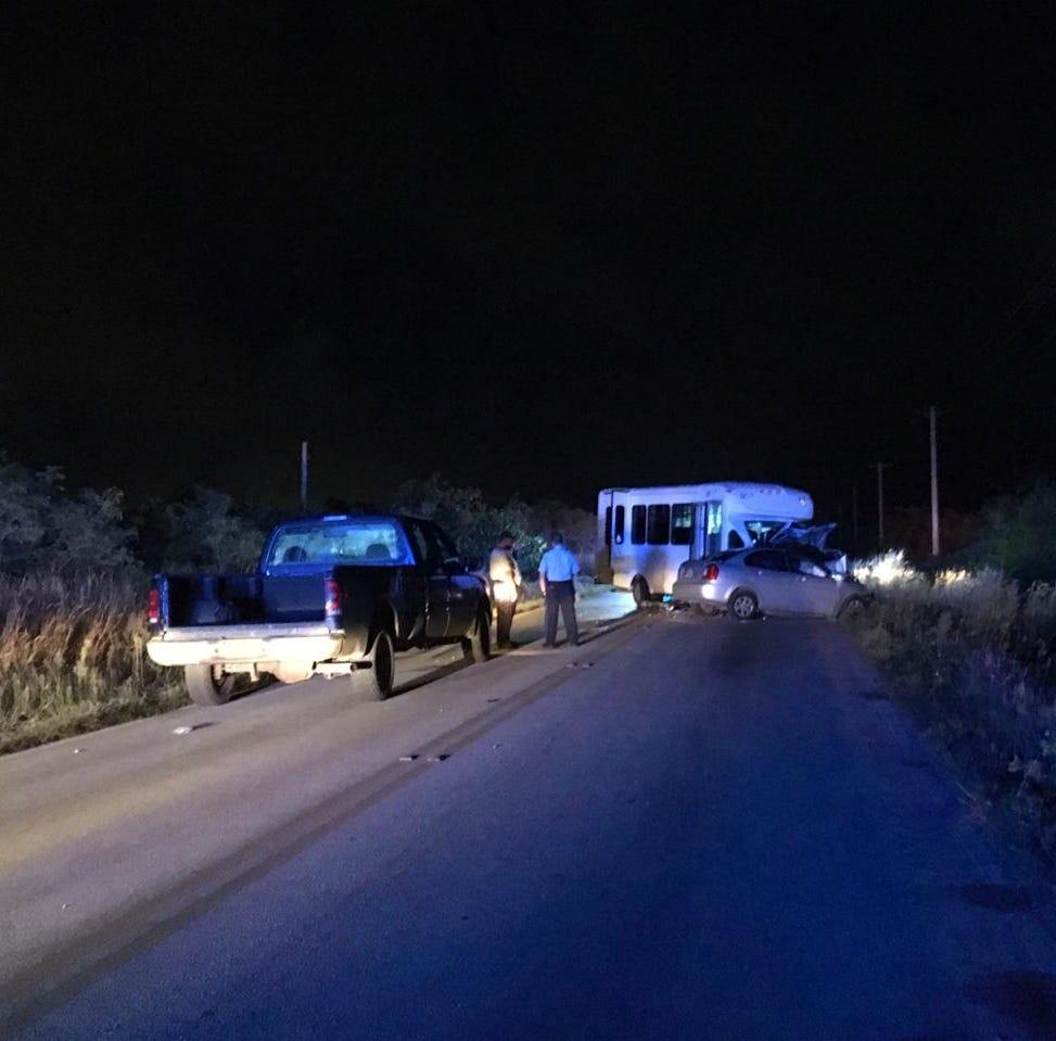 Fatality confirmed in Yigo auto-bus crash