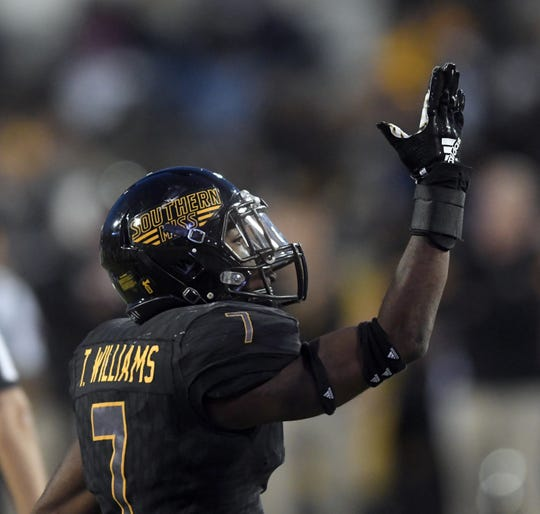 Southern Miss defensive back Ty Williams and the rest of the Golden Eagles will play five home games in 2019, according to a Thursday release from the athletic department.
