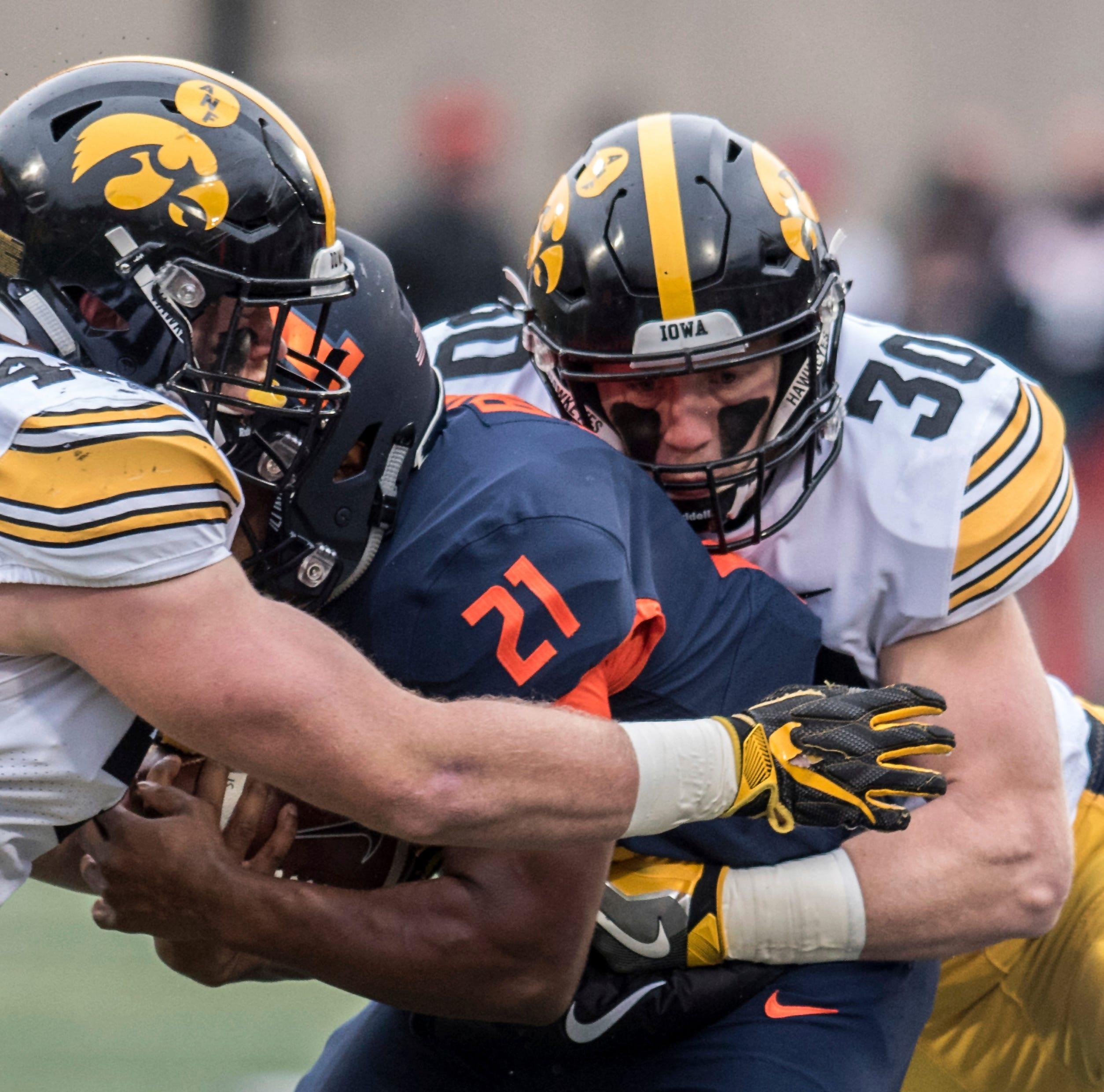 Leistikow: Hawkeyes stave off program questions with domination of Illinois