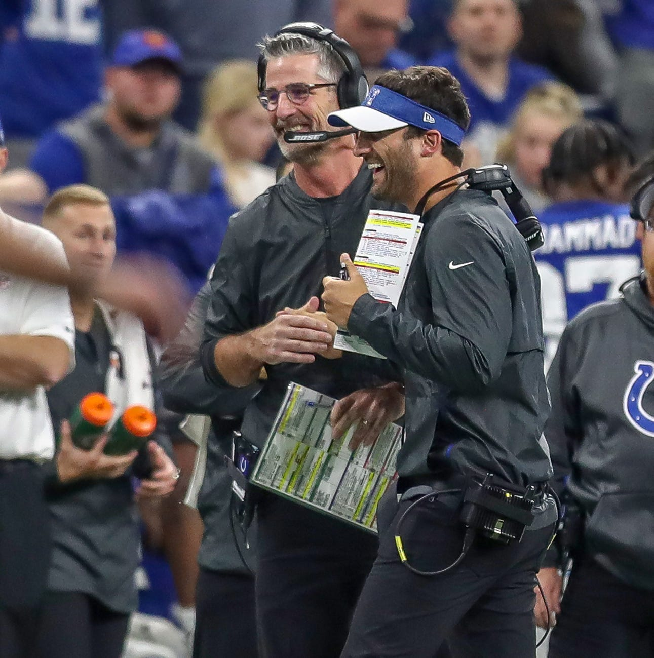 The evolution of Frank Reich's Colts offense: 'You can't key in on what we're doing'