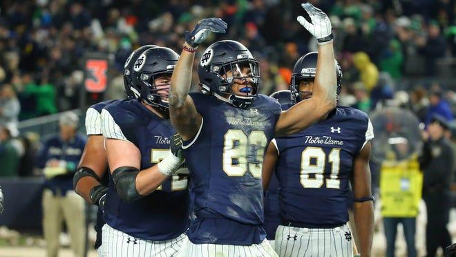 Notre Dame Football Pinstripe Uniforms Vs Syracuse Not So Popular