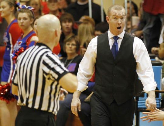 Matt Moore begins his second season as Fishers coach.