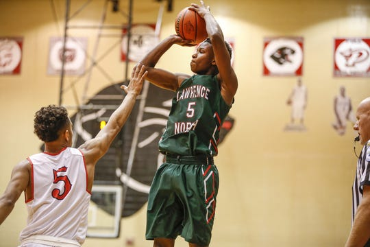 Lawrence North guard Jared Hankins is committed to Indiana State.