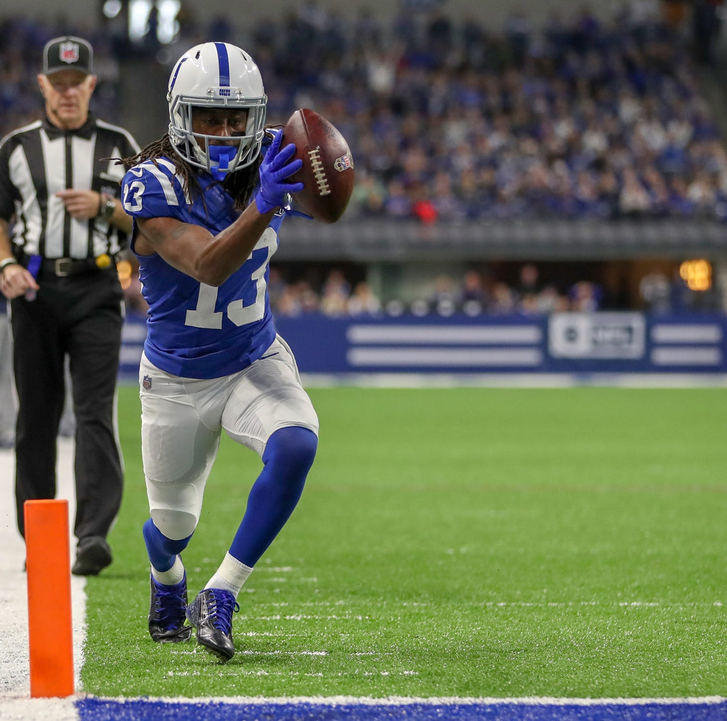 Insider: Patience pays off for Colts' T.Y. Hilton, torching Titans team that left him 1-on-1