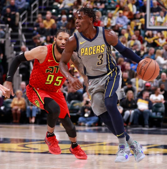Without VIctor Oladipo, Aaron Holiday Energizes Pacers To