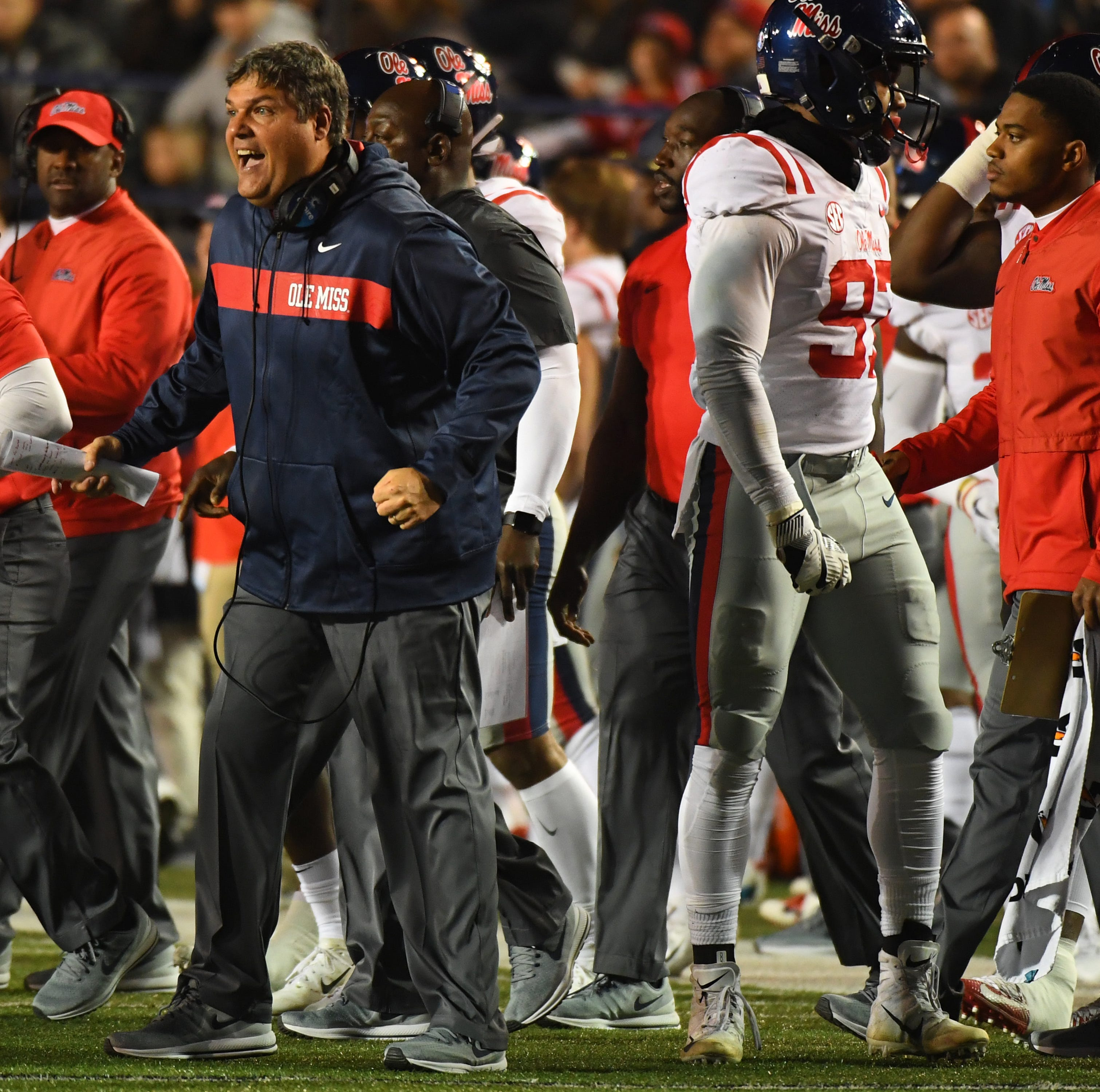 Everything Ole Miss coach Matt Luke said after the Rebels' overtime loss at Vanderbilt