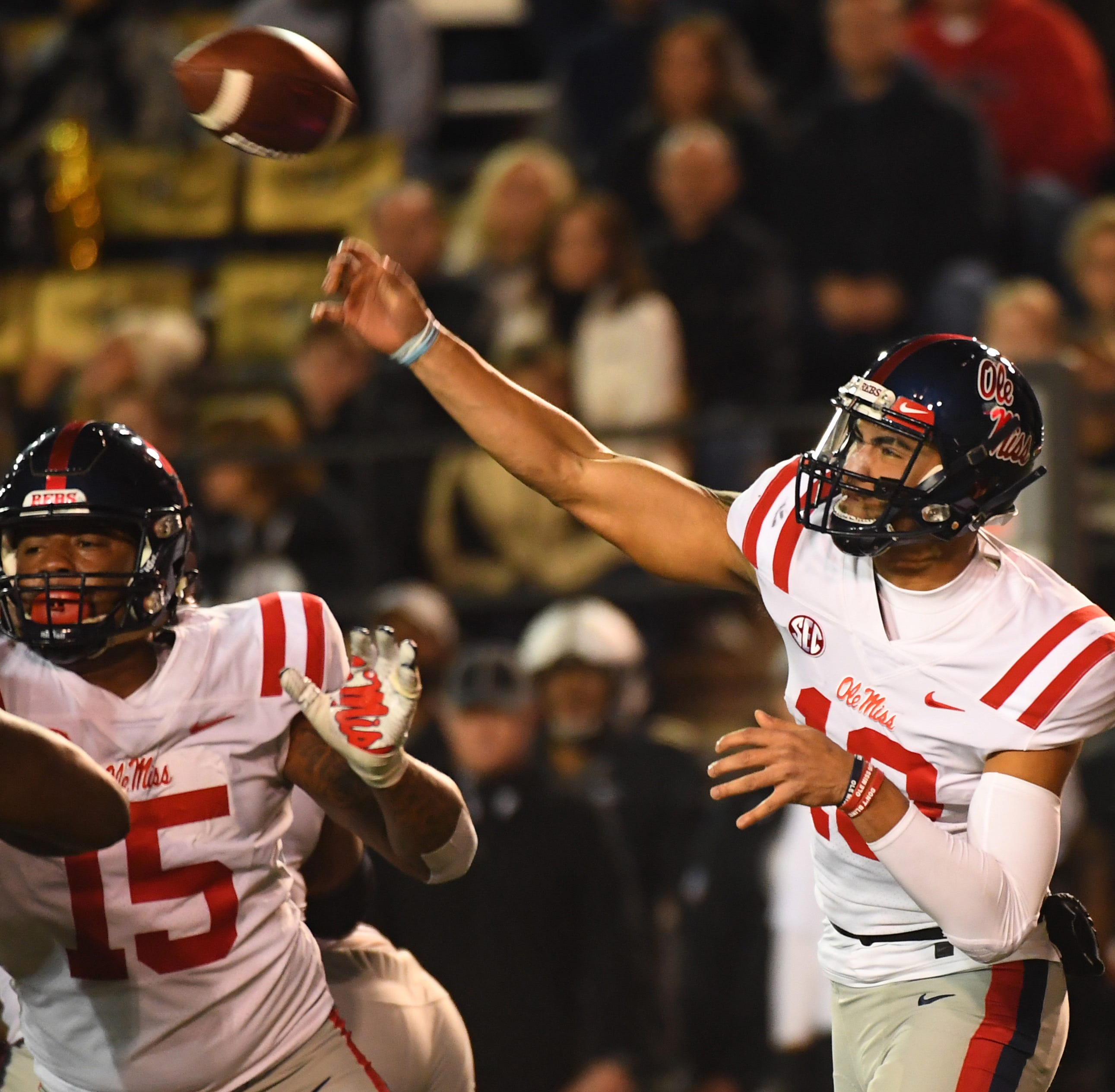Ole Miss loses overtime thriller 36-29 at Vanderbilt