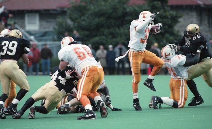 Tennessee vs Vanderbilt football through the years