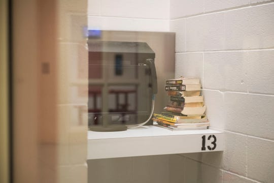 A video visitation area for inmates at Claiborne County Jail in Claiborne County, Wednesday, Oct. 24, 2018.