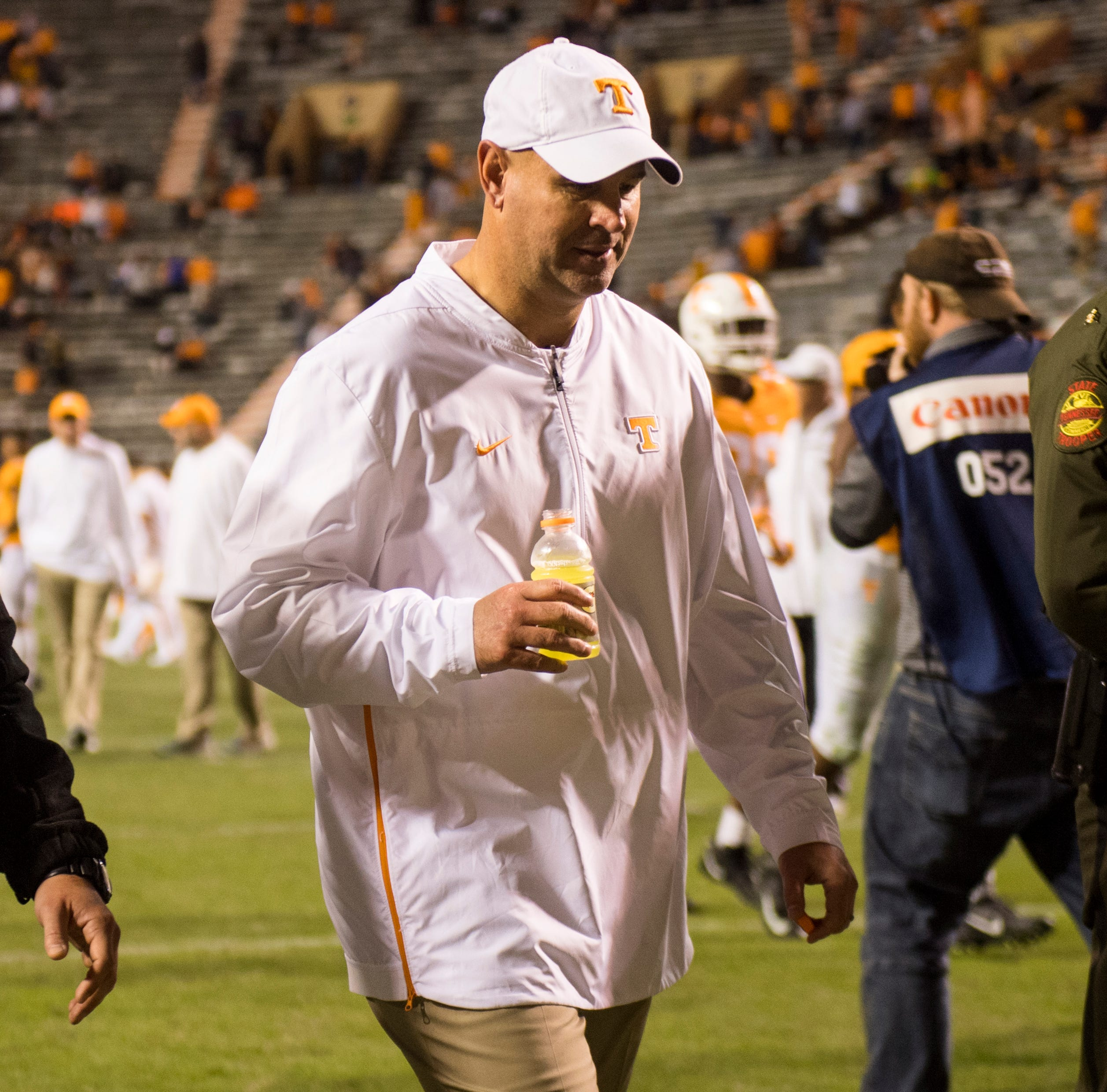UT Vols' Jeremy Pruitt tells Knoxville QB Club: 'We share the same disappointments'