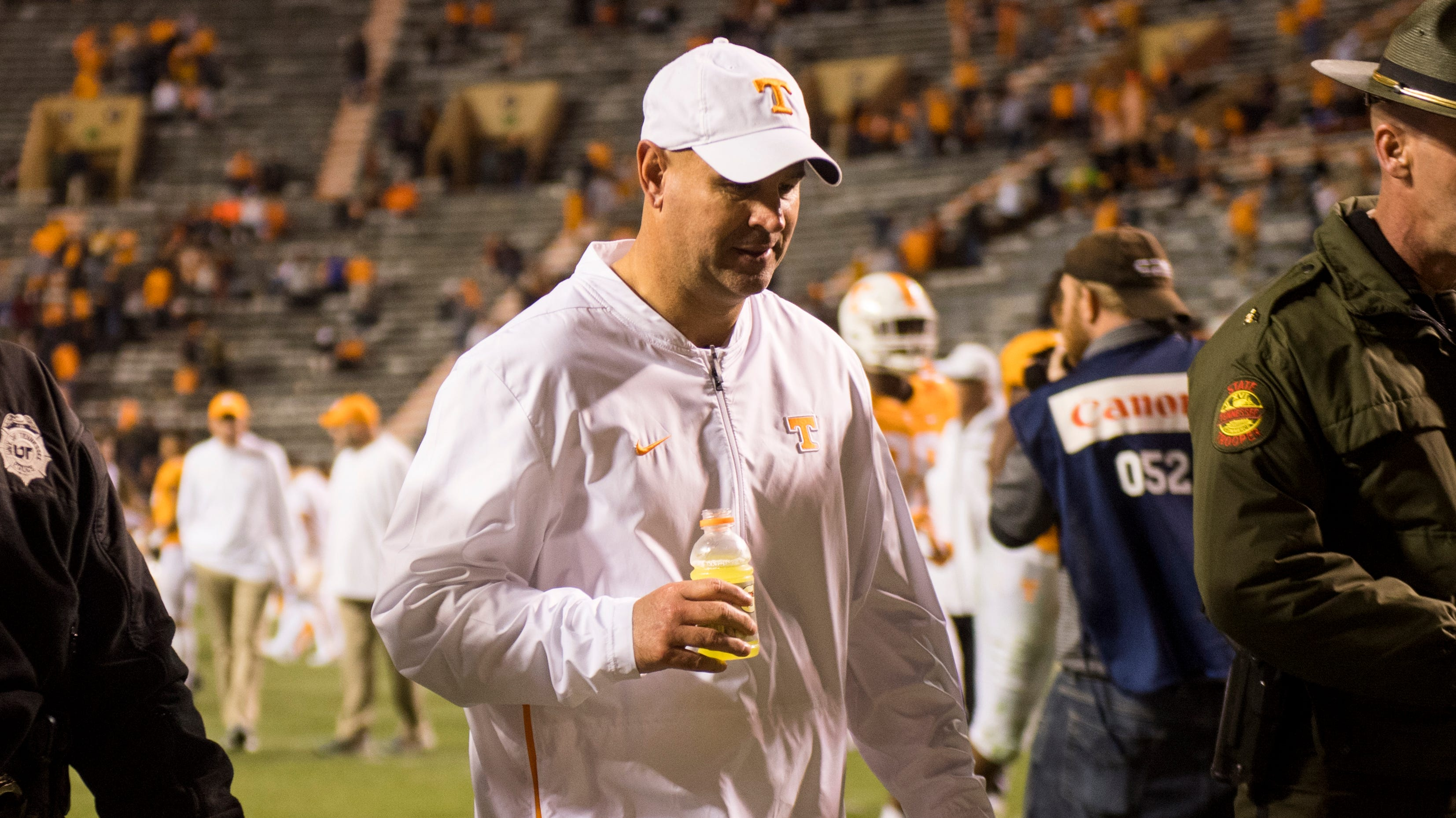 UT Vols: Coach Jeremy Pruitt tells Knoxville QB Club: 'we share the same disappointments'