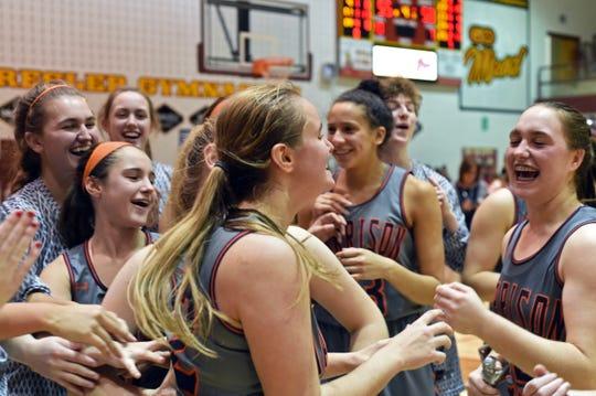 Harrison won the girls Franciscan Health Hoops Classic last season under first-year head coach Rush McColley.